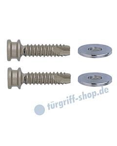 Stossgriff-Befestigungs-Set 5 für Rahmentüren aus Holz und Kunststoff Schneider + Fichtel