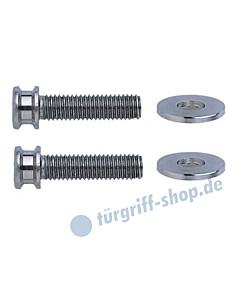 Stossgriff-Befestigungs-Set 7 für Rahmentüren mit Einnietmuttern Schneider + Fichtel