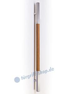 SG-179 Stossgriff Edelstahl/Holz in 3 Längen von Werding