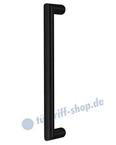 Stoßgriff Ronny II, gerade, Griffstange Ø 20 mm | in 2 Längen | schwarz matt Südmetall