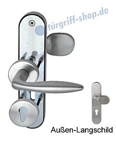 Sicura Kombi-LS/R TopSpeed Edelstahl Schutzgarnitur Südmetall