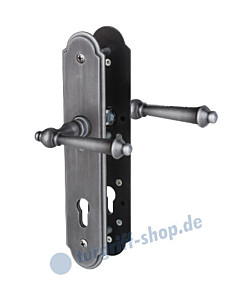 Sicura Seekirchen II-LS/LS Schutzgarnitur Drücker/Drücker Stahl geschwärzt matt von Südmetall