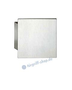 Stossgriff 61-6181 mit quadratischer Griffplatte 150 x 150 mm Alu F1 natureloxiert FSB