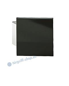 Stossgriff 61-6184 mit quadratischer Griffplatte 150 x 150 mm Alu schwarz FSB
