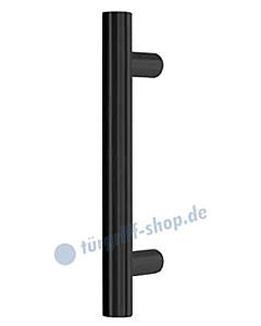 Stoßgriff Korfu -gerade- Ø 30 mm in 4 Längen schwarz matt von Südmetall