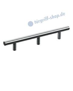 T-Relinggriff mit 3 Sockeln, Griffstärke Ø 12 mm Edelstahl matt von Südmetall