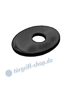 Unterlegscheibe oval mit Fase schwarz matt von Südmetall