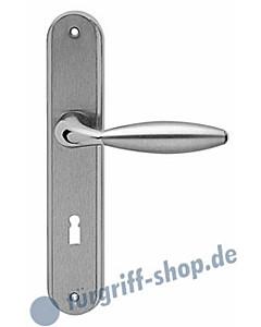 Venedig RL 15 Langschildgarnitur Chrom/Nickel-matt Karcher