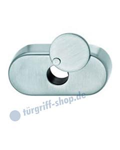 Verdeckrosette oval FSB für Fenstergriff, 17-1759, runde Abdeckung, für horizontalen Einsatz