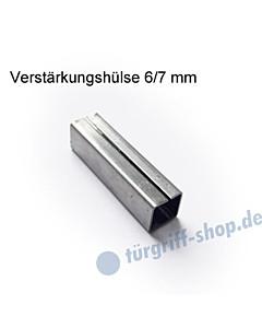Verstärkungshülse 6/7 mm zum Ausgleich Drückerstift/Schlossnuss von Südmetall