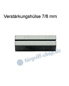 Verstärkungshülse 7/8 mm zum Ausgleich Drückerstift/Schlossnuss von Lienbacher