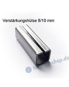 Verstärkungshülse 8/10 mm zum Ausgleich Drückerstift/Schlossnuss von Südmetall