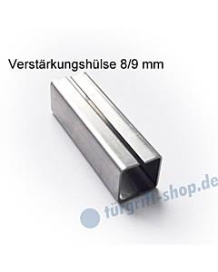 Verstärkungshülse 8/9 mm zum Ausgleich Drückerstift/Schlossnuss von Südmetall