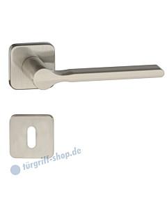 Vola quadratische Rosettengarnitur PVD Nickel matt gebürstet von Artitec Wallebroek