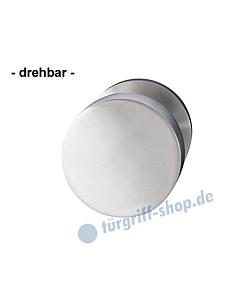 Türknopf drehbar Ø 50 mm Edelstahl matt von Griffwelt