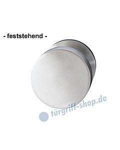 Türknopf feststehend Ø 50 mm Edelstahl matt von Griffwelt