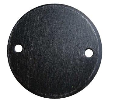 Schwarz silber verzinkt