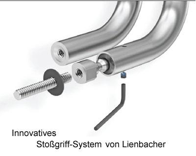 Das innovative Stoßgriff-System von Lienbacher
