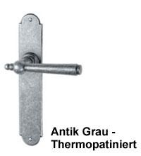 Farbbeispiel: thermopatinierte Oberfläche  -  sehr gut für den Außenbereich geeeignet