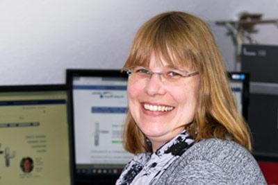 Team vom Türgriff Shop Schröder - Antje Renker  - Auftragsbearbeitung und Kundenbetreuung