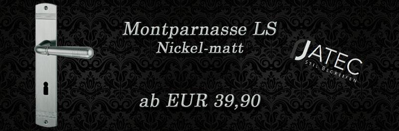 Super-Angebot Jado Langschild Montparnasse Nickel-matt