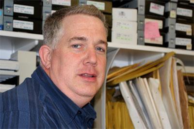 Türgriff Shop Schröder - Lagerleitung und technischer Ansprechpartner Winfried Schnier